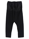 E.Tautz Women's Contrast Tops Drawstring Wool Nylon Silk Pants Ln Cc