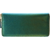 Comme Des Garcons Foil Zip Around Wallet At Barneys.Com