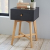Tall Storage Nightstand Black West Elm