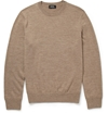 A.P.C. Knitted Wool Crew Neck Sweater Mr Porter