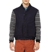 Oliver Spencer c2 a0Fair Isle Sleeved Wool Blend Bomber Jacket c2 a0 7c c2 a0MR PORTER
