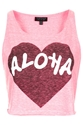 Fluro Aloha Vest New In This Week New In Topshop Europe