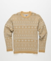 Norse Store 7c Premium Casual and Sportswear Online Knitwear Mt Rainier Design Cotton Nordic Sweater