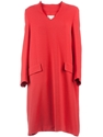 Maison Martin Margiela Draped Shift Dress L e2 80 99Eclaireur farfetch com