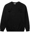 Carven Black Cut Out Molleton Coat Sweater Hypebeast Store. Shop Online For Men's Fashion Streetwear Sneakers Accessories
