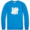 Undefeated 5 Strike Basic Pullover Crew Royal