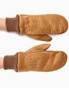 Maison Fabre Ladies Sheep Leather Mitten You Must Create Ymc