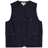 Filson Light Work Vest Navy