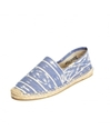 Ikat Blue White Espadrilles for Men from Soludos Soludos Espadrilles