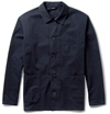 A.P.C. Regular Fit Cotton Twill Lightweight Jacket Mr Porter