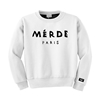 Admirable Merde Crewneck White
