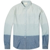 Band Of Outsiders Dip Dyed Shirt Blue