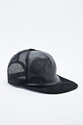 Urban Renewal Vintage Re Made Leather Trucker Cap In Black Urban Outfitters