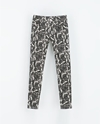 Pantalon Denim Coated Animal Print Mujer Ultima Semana Zara Espana