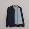 Lacoste Button Pocket Bomber Dark Indigo 7c Oi Polloi