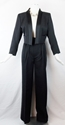 Vintage Yves Saint Laurent Crop Tuxedo Jacket With By Douvintage