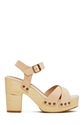 Shoe Cult Hutton Sandal Nude