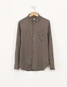 Aspesi Button Up Jersey Shirt Grey Nitty Gritty Store