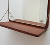 Mirror on teak base with shelf 7c CHASE 26 SORENSEN 2f 2f DANISH MODERN FURNITURE 26 HOME D c3 89COR