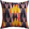 Triangle Haze 18 Pillow In View All Pillows Throws Cb2