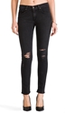 Rag Bone Jean Slim Fit Skinny In Rock With Holes Revolve