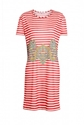 Carven 7c Paisley Stripe T Shirt Dress by Carven
