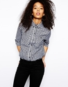 Asos Asos Shirt In Gingham Check At Asos