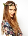 Asos Limited Edition Secret Garden Hair Garland At Asos