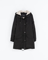 Parka With Hood Coats Woman Zara United Kingdom