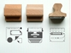 Present 26Correct Desk Rubber Stamps