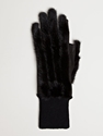 Rick Owens Men's Mink Gloves Ln Cc
