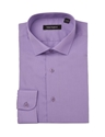 Peter England Cotton Rich Tailored Fit Mens Purple Shirt Regency Shirt Company