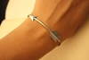 Silver Arrow BRACELET by iadornu on Etsy