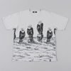 Neighborhood Svg Vulture S S Crew T Shirt Grey
