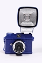 Lomography Diana Mini Camera in Blue with Flash at Urban Outfitters