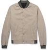 Balenciaga Cotton And Silk Blend Bomber Jacket Mr Porter