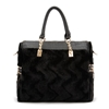 Amazon.Com Fashion Stylish Retro Flocky Spliced Handbag Clothing