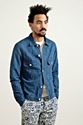 Our Legacy Jean Jacket Irregular Indigo Tres Bien