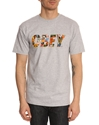 Tshirt Obey Collage Gris Obey