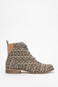 BDG Chelsea Printed Canvas Ankle Boot Urban Outfitters