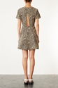 Denim Leopard Skater Dress New In This Week New In Topshop
