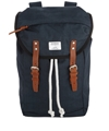 Navy Hans Hiking Backpack 2c Sandqvist Shop the latest Sandqvist collection at Liberty co uk