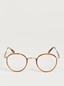 Garrett Leight California Optical Men 27s Wilson Butterscotch Glasses 7c LN CC