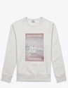 Acne Studios College Photo Sweatshirt Ivory Tres Bien