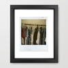 Fashion Framed Art Print by n o a h 7c Society6