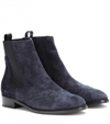 Mytheresa.Com Suede Chelsea Boots Flat Ankle Boots Shoes Luxury Fashion For Women Designer Clothing Shoes Bags