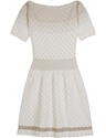 mytheresa com Nina Ricci MINI KNIT DRESS WITH LUREX DETAILS Luxury Fashion for Women 2f Designer clothing 2c shoes 2c bags