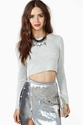 Nasty Gal Let It Be Crop Sweater In Clothes Tops At Nasty Gal
