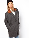 American Apparel American Apparel Wool Coat At Asos