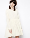 The Whitepepper The Whitepepper Smock Dress At Asos